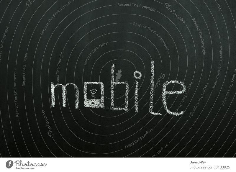 Geschriebenes l mobile Mensch Lifestyle Leben sprechen Glück Stil Business Kunst Design elegant Telekommunikation Erfolg Kreativität Buchstaben