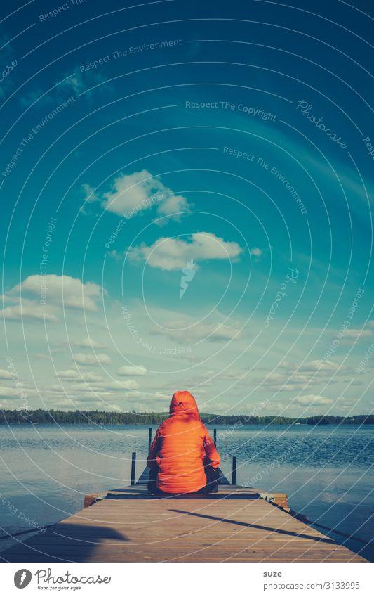 TT | Verloren - ein klein bisschen Gesundheit Wohlgefühl ruhig Ferien & Urlaub & Reisen Ausflug Abenteuer Freiheit Sommer Sommerurlaub Mensch maskulin