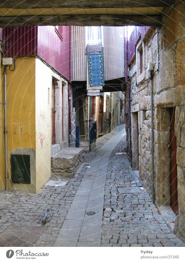 gässchen Portugal Gasse Wäsche Europa Porto Wege & Pfade Niesche