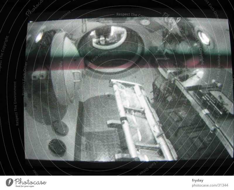 ISS 2 Köln Raumfahrt Kammer Bildschirm Hintergrundbild Schleuse Elektrisches Gerät Technik & Technologie DLR Überdruck Überdruckkammer Fotokamera