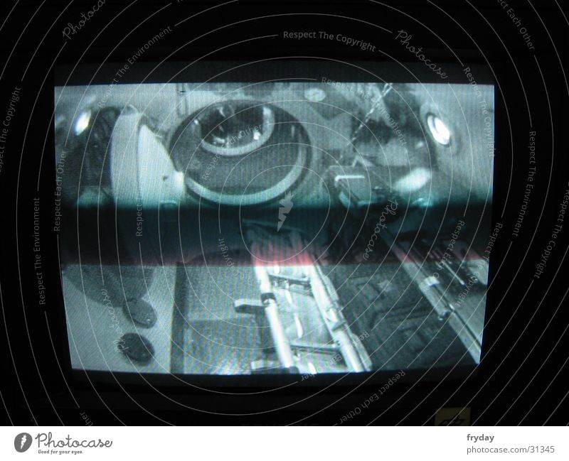 ISS 1 Köln Raumfahrt Kammer Bildschirm Hintergrundbild Schleuse Elektrisches Gerät Technik & Technologie DLR Überdruck Überdruckkammer Fotokamera