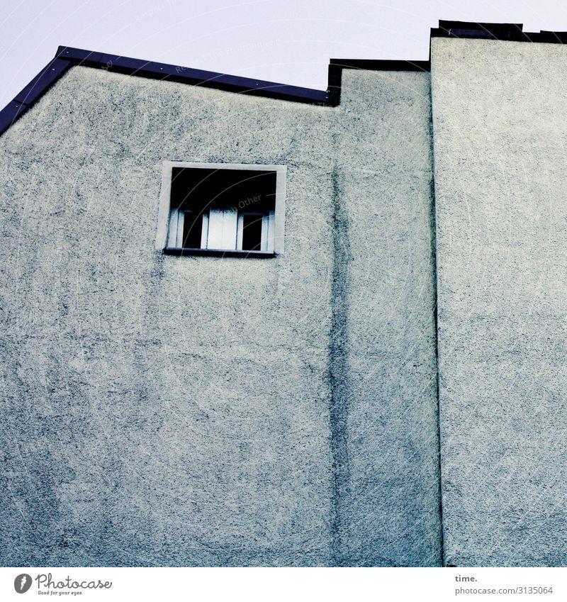 blue note Häusliches Leben Wohnung Hamburg Haus Architektur Mauer Wand Fenster einfach blau Neugier Traurigkeit Schmerz Scham ästhetisch Einsamkeit entdecken