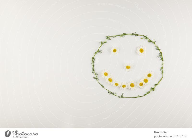 smile Blumen formen Gesicht lächeln Happy Smiley Gute Laune Frühling Frühlingsgefühle blumengruß