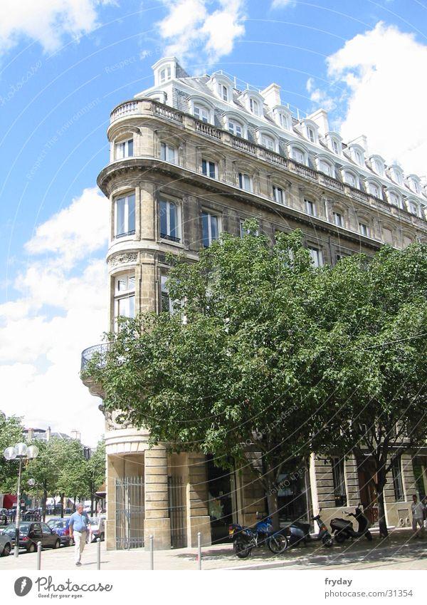 Bordeaux Europa Frankreich Stadtzentrum bordeaux Eckgebäude