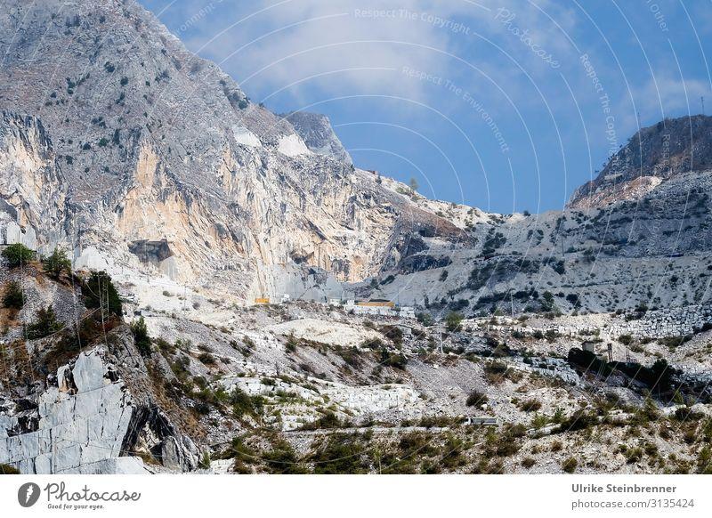 Carrara 1 Ferien & Urlaub & Reisen Tourismus Ausflug Abenteuer Städtereise Berge u. Gebirge Umwelt Landschaft Frühling Sommer Schönes Wetter Felsen Alpen