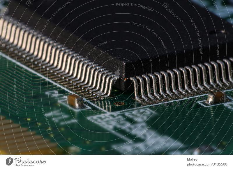 Integrierter Halbleiter-Mikrochip-Mikroprozessor Schaltung Integration Technik & Technologie mikroskopisch elektronisch digital kompetent Hardware Prozessor