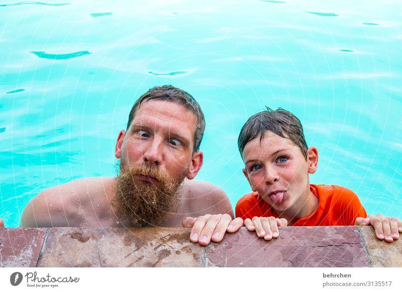 ausführung Ferien & Urlaub & Reisen Tourismus Ausflug Abenteuer Ferne Freiheit Junge Mann Erwachsene Vater Familie & Verwandtschaft Kindheit Haut Kopf