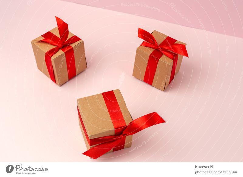 Hintergrund mit Weihnachtsdekoration Komposition Design Glück Winter Dekoration & Verzierung Tisch Feste & Feiern Valentinstag Muttertag Weihnachten & Advent