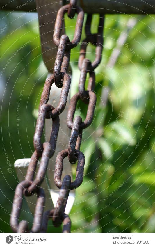 Rostige Ketten Stahl Handwerk Eisen