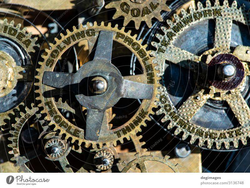 Ausrüstung und Texte Menschen, Problem, Lösung, Teamarbeit, Idee Erfolg Arbeit & Erwerbstätigkeit Industrie Business Maschine Technik & Technologie