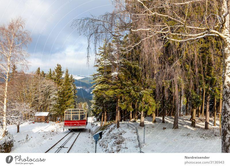 Bergbahn Oberweißbach Ferien & Urlaub & Reisen Tourismus Winter Schnee Winterurlaub Berge u. Gebirge wandern Güterverkehr & Logistik Technik & Technologie Natur
