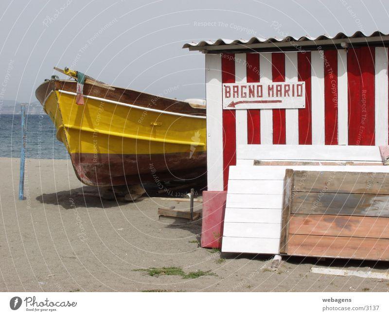 Bagno Mario Italien Wasserfahrzeug Stillleben Ischia