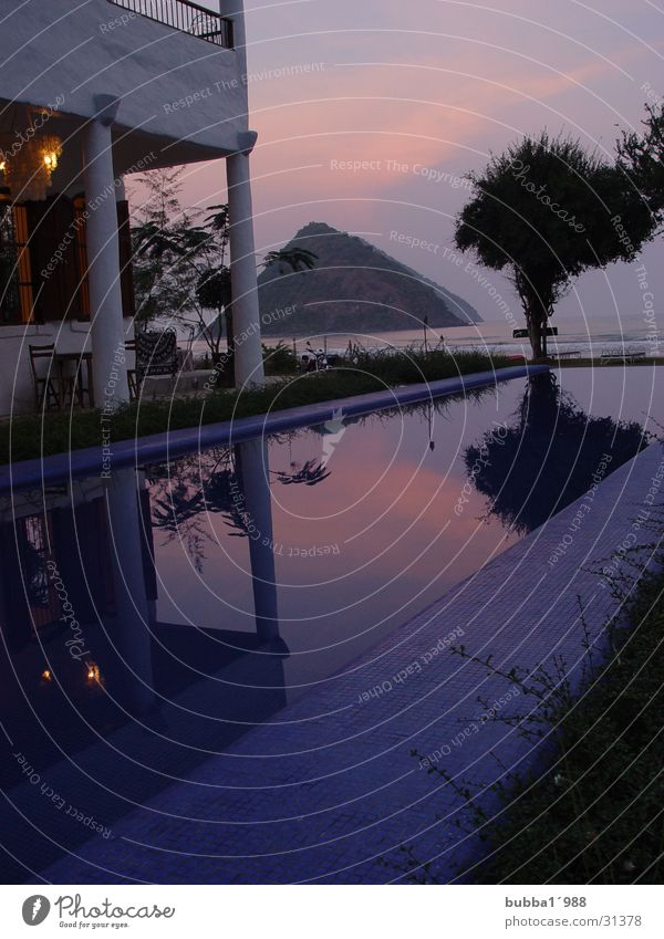 Abendsonne Stil Thailand Abendsonne
