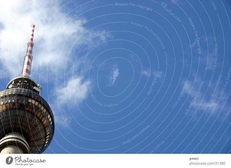 fernsehturm Architektur Turm Berliner Fernsehturm hoch