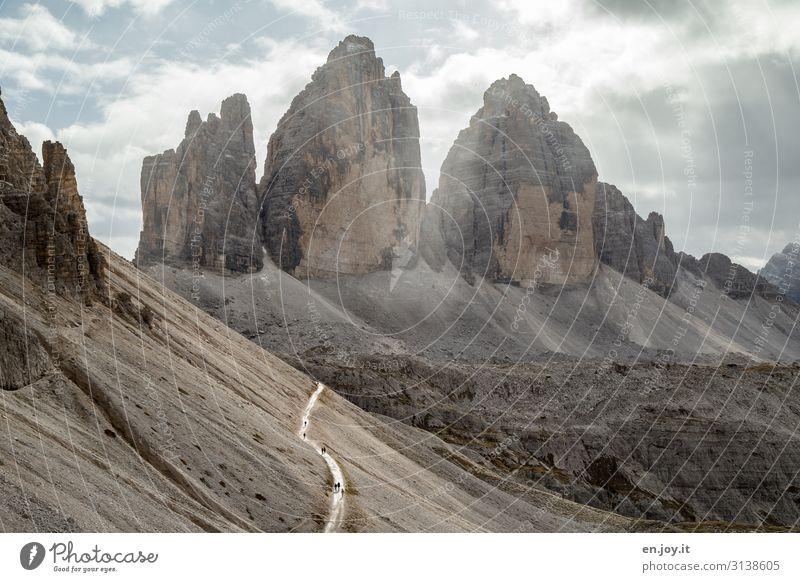 alle Wege führen nach Rom? Ferien & Urlaub & Reisen Tourismus Ausflug Abenteuer Expedition Berge u. Gebirge wandern Natur Landschaft Wolken Klima Klimawandel
