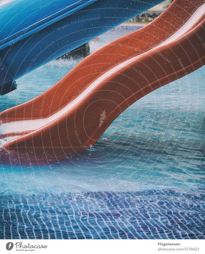 Rutschen für Nichtschwimmer rutschen Schwimmen & Baden Im Wasser treiben Schwimmsport Schwimmbad Fliesen u. Kacheln Freibad Badeort Strand