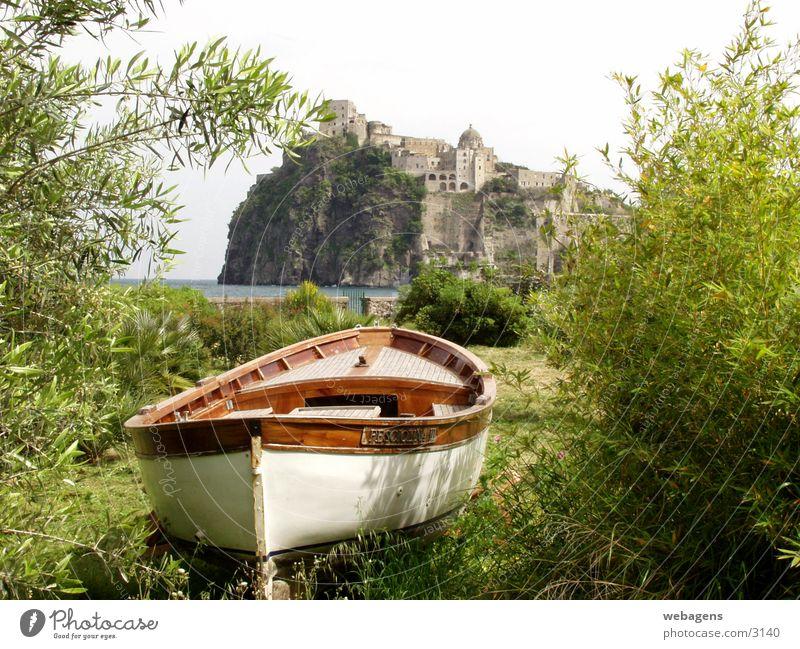Ischia Porto Boot Wasserfahrzeug Korsika Porto Ischia