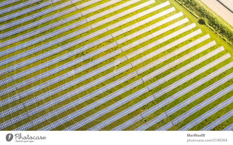 Solar Plant Highway Energiewirtschaft Solarzelle Sonnenenergie Technik & Technologie Fortschritt Zukunft Erneuerbare Energie Erde Sonnenlicht Sommer