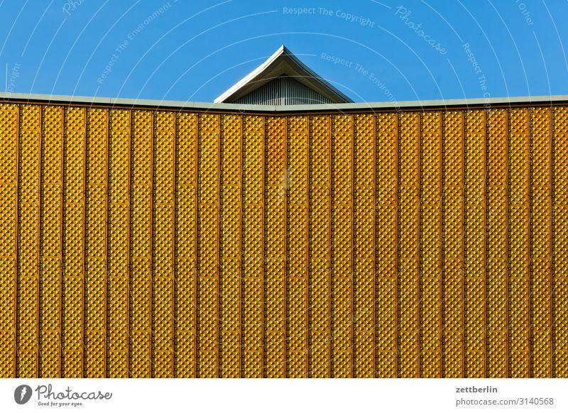 Philharmonische Fassade Architektur avant garde Bauhaus Berliner Philharmonie hans scharoun Konzert Konzerthalle Konzerthaus Kultur Kulturforum Berlin Musik