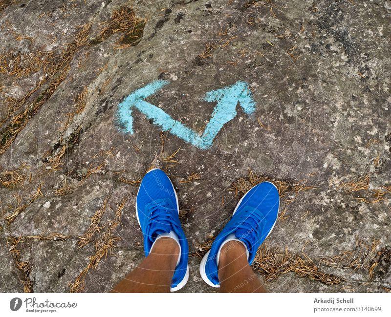 Make decisions in life and lead a healthy and athletic lifestyle Lifestyle Glück Freizeit & Hobby Glücksspiel Sportler Joggen wandern Mensch maskulin