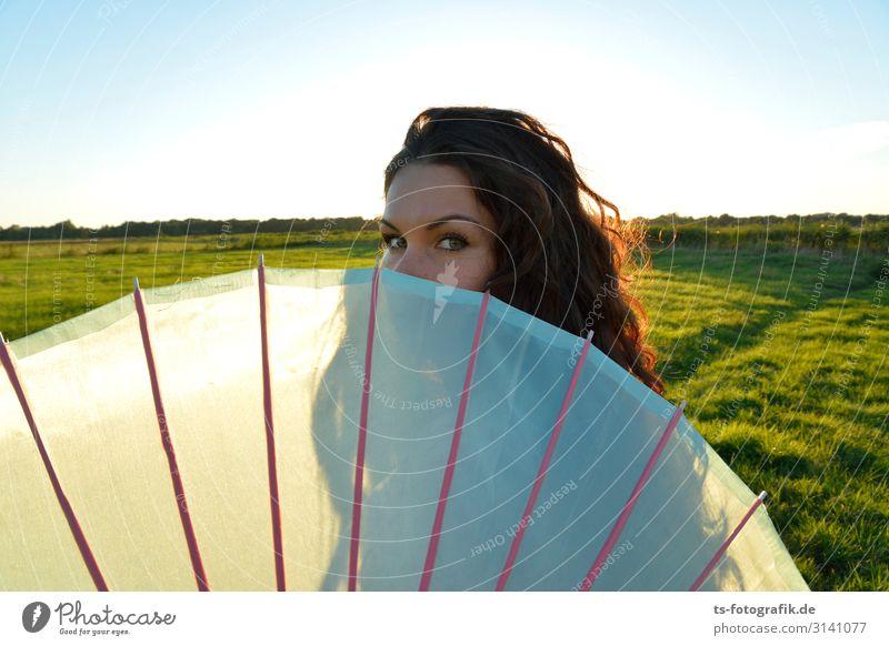 shinnichi Stil schön Haare & Frisuren Ferien & Urlaub & Reisen Ferne maskulin Junge Frau Jugendliche Auge 1 Mensch 18-30 Jahre Erwachsene Natur Horizont Sommer