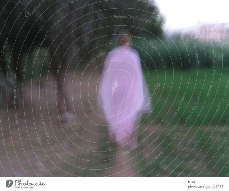 Engel Frau Natur Surrealismus Tracht