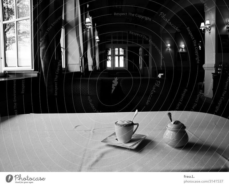 Schön wars Latte Macchiato Tasse Löffel Zuckerdose Ferien & Urlaub & Reisen Tourismus Herbst Restaurant Strandbar Lounge Polen ästhetisch außergewöhnlich