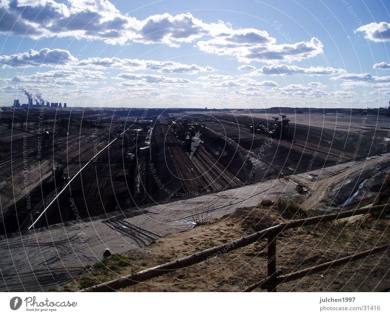 Mondlandschaft Himmel Wolken Sand Erde Energiewirtschaft Maschine