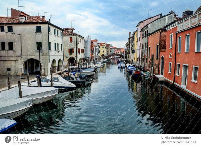 Chioggia Ferien & Urlaub & Reisen Tourismus Ausflug Sightseeing Städtereise Italien Europa Dorf Fischerdorf Kleinstadt Hafenstadt Stadtzentrum Altstadt Haus
