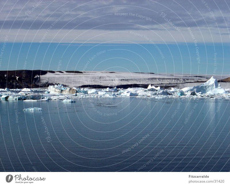 Eismeer Meer Eisberg Südpol Polarmeer Antarktis