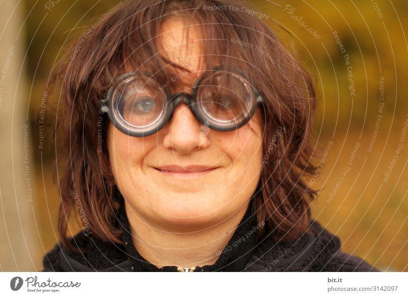 Firlefanz l wer braucht schon Fasching? Spielen Feste & Feiern Karneval feminin Frau Erwachsene Gesicht Brille Spielzeug außergewöhnlich frech hässlich verrückt