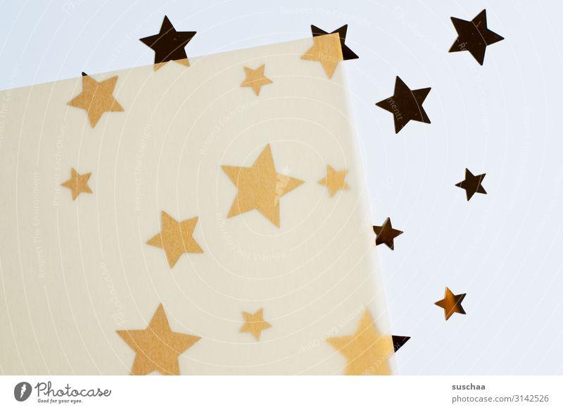 noch ein paar sternchen .. Stern (Symbol) viele Verschiedenheit Größenunterschied gezackt Dekoration & Verzierung transparent Transparentpapier durchsichtig