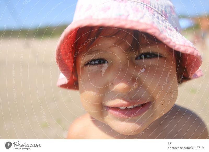 Kind Mensch schön Erholung ruhig Freude Lifestyle Erwachsene Leben Gefühle Glück Spielen Stimmung Zufriedenheit Kindheit Fröhlichkeit