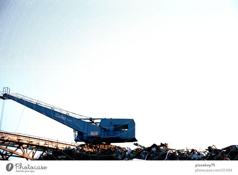 AltmetallÜberall Industrie Hafen Kran Recycling Portwein Schrott