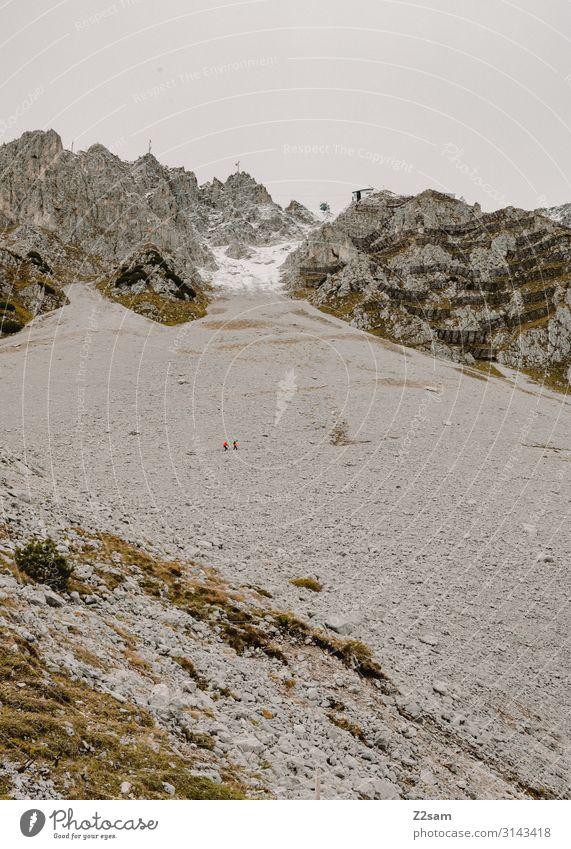 Hafelekar | Innsbruck Sightseeing Natur Landschaft Herbst Klima Felsen Alpen Berge u. Gebirge bedrohlich gigantisch groß hoch nachhaltig natürlich Einsamkeit