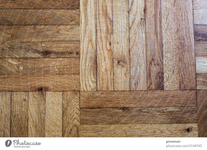 Parkett Holz stehen Häusliches Leben alt eckig braun Material Paneele Hintergrundbild Tanzfläche horizontal Holzfußboden Oberfläche Strukturen & Formen rustikal
