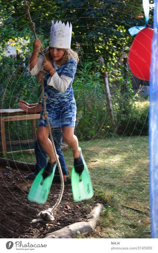 Firlefanz l die Froschkönigin schaukelt. Freizeit & Hobby Spielen Ferien & Urlaub & Reisen Garten Party Feste & Feiern Karneval Geburtstag Mensch feminin Kind