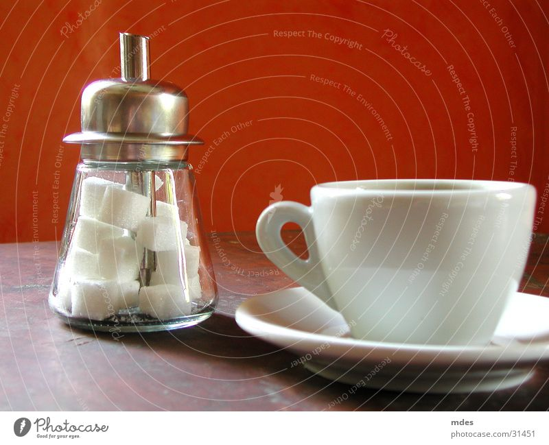 wie jetzt? Zucker Würfelzucker Ernährung zuckerstreuer Kaffee