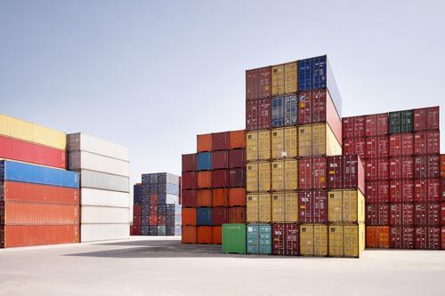 container Business Arbeit & Erwerbstätigkeit Verkehr Güterverkehr & Logistik Reichtum Verkehrswege Handel Arbeitsplatz Lager Container Ware liefern