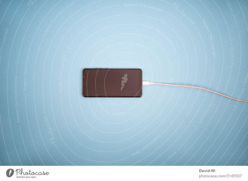 Handy laden Ladekabel Aufladen strom Akku alle akku akku leer handyakku Technik & Technologie Batterie Energie Kabel Ladegerät Farbfoto Energiewirtschaft