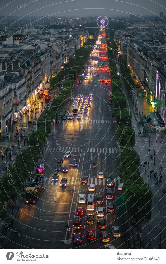 Paris im Maiabend Lifestyle Reichtum Stil Design Leben harmonisch Freizeit & Hobby Ferien & Urlaub & Reisen Tourismus Ausflug Abenteuer Ferne Freiheit
