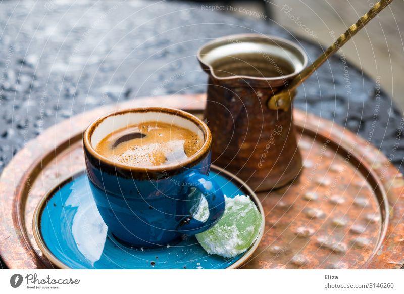 Mokkaliebe Kaffee stark Kaffeetasse Kaffeepause türkischer kaffee Türkei cezve ibrik briki raqwa Griechenland Espresso Naher und Mittlerer Osten