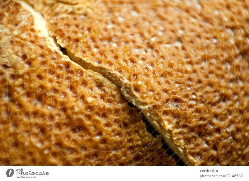 Zitronenschale Müdigkeit gebrochen Bruch leer Pore Riss Hülle Durchschnitt Spalte Trennung trocken getrocknet vertrocknet Vitamin gelb Makroaufnahme Nahaufnahme