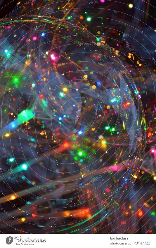 Firlefanz | auf dem Weihnachtsmarkt Feste & Feiern Weihnachten & Advent Dekoration & Verzierung Luftballon Kitsch Krimskrams Lichtkugel Kunststoff Kugel