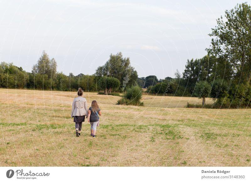 Der Ausflug , Nr.1 harmonisch Abenteuer Freiheit Sommer Mädchen Junge Frau Jugendliche Geschwister 2 Mensch 3-8 Jahre Kind Kindheit 13-18 Jahre Natur Landschaft