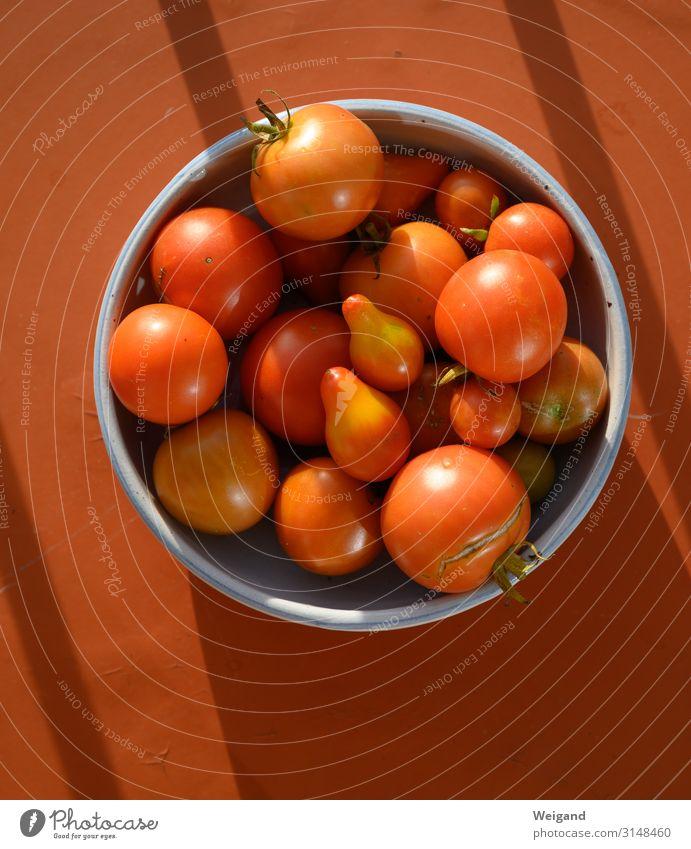 Tomaten Lebensmittel Gemüse Salat Salatbeilage Ernährung Büffet Brunch Bioprodukte Vegetarische Ernährung Slowfood Schalen & Schüsseln Gesundheit Umwelt