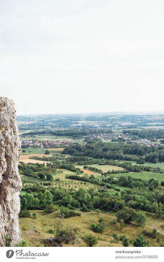 Ehrenbürg Walberla, Fränkische Schweiz Ferien & Urlaub & Reisen Natur Sommer Landschaft Freude Ferne Berge u. Gebirge Wiese Glück Tourismus Freiheit Felsen