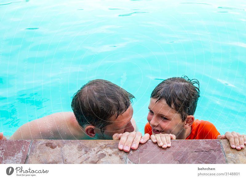 planung Ferien & Urlaub & Reisen Tourismus Ausflug Abenteuer Ferne Freiheit Junge Mann Erwachsene Vater Familie & Verwandtschaft Kindheit Haut Kopf