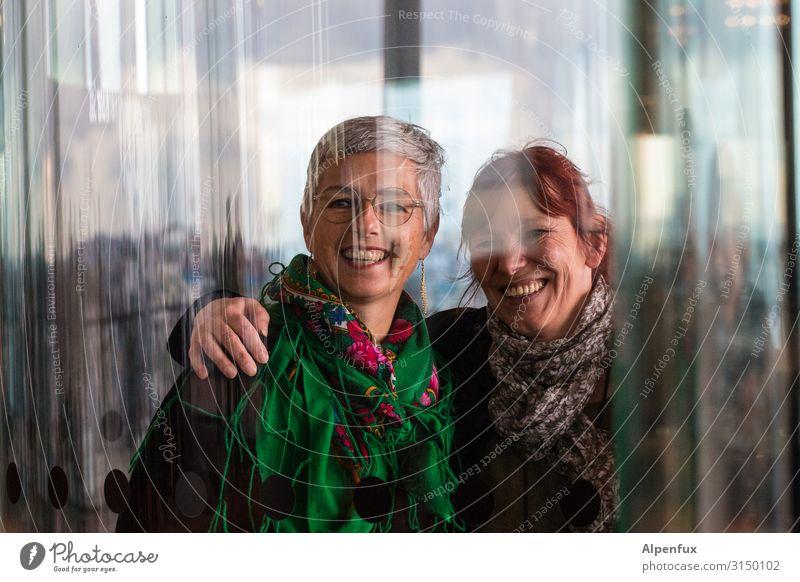 Freundinnen | UT HH19 Mensch feminin Frau Erwachsene 2 45-60 Jahre Freundlichkeit Fröhlichkeit Glück Gefühle Freude Zufriedenheit Lebensfreude Begeisterung