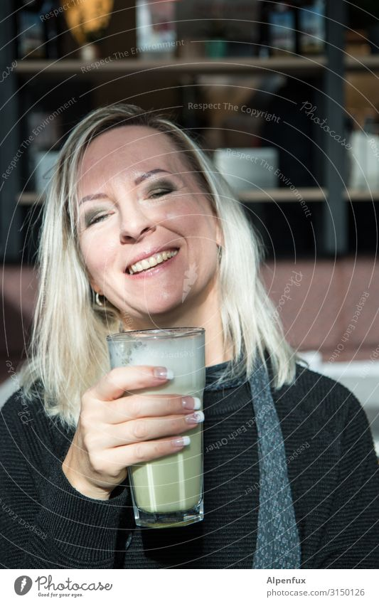 guter Montag | UT HH19 Mensch feminin Frau Erwachsene 30-45 Jahre Lächeln lachen blond Freundlichkeit schön Freude Glück Fröhlichkeit Zufriedenheit Lebensfreude